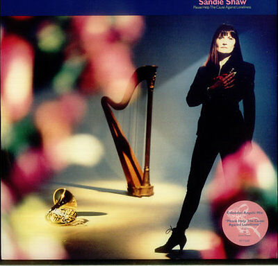 """Please Help The Cause Agains... Sandie Shaw UK 12""""  record (Maxi)"""