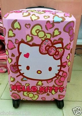 """Hello Kitty Suitcase Cover Dust Proof Trolley Bag Luggage Protector 24-26"""" KK761"""