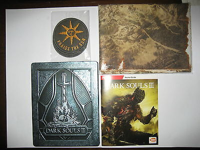 Dark souls 3 PS4 game metal case cloth map soundtrack patches Apocalypse