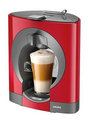 NESCAFÉ KP110540 Dolce Gusto Oblo Coffee Capsule Machine by Krups - Red A
