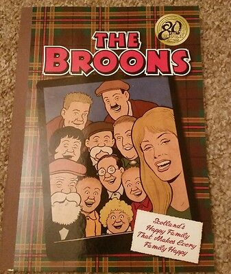The Broons Book 2016 Brand New & Unread 80th  Anniversary.