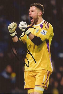 WEST BROM: BEN FOSTER SIGNED 6x4 ACTION PHOTO+COA