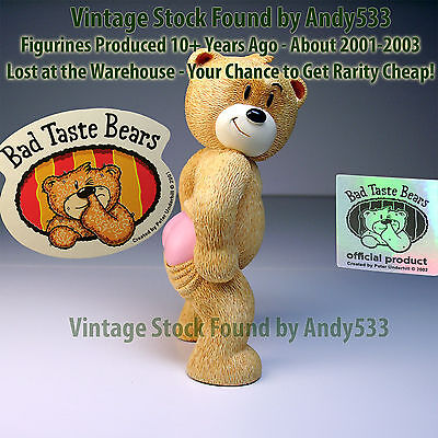 Bad Taste Bears MIB 20 Rudi Pink Bottom Vintage Out of Production Retired