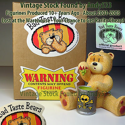 Bad Taste Bears MIB 22 Sid 2001 Vintage Out of Production Retired