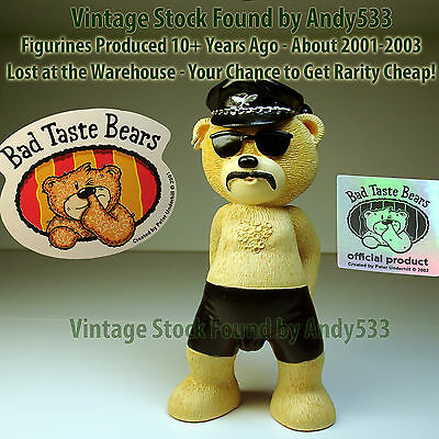 Bad Taste Bears MIB 42 Randy Small Eagl Vintage Out of Production Retired
