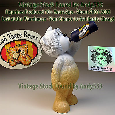 Bad Taste Bears MIB 47 Dom 2002 Vintage Out of Production Retired