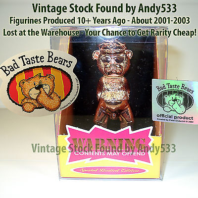 Bad Taste Bears MIB 69 Randy Pink #2950 Vintage Out of Production Retired
