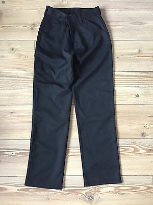 NEXT Boys Black School Trousers - Age 15 Slim Fit