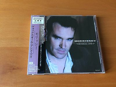 Japan Cd Morrissey Vauxhall And I Obi Tocp-8075 The Smiths