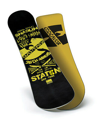 """2016 Endeavor """"the Wu-Tang"""" Snowboard Ltd Edition"""