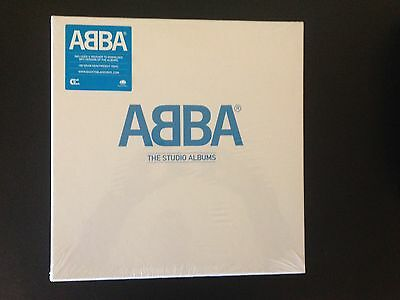 ABBA - The Studio Albums - 2014 Limited Edition vinyl 8LP box set SEALED