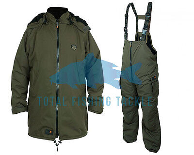 Fox NEW Carp Fishing Chunk Trek Sherpa Jacket & Bib N Brace Salopettes