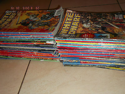 45 White Dwarf Warhammer magazines (Games Workshop) - All from The 90's