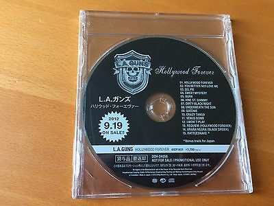 Japan Cd L.a. Guns Hollywood Forever Kicp-1631 Promo Only