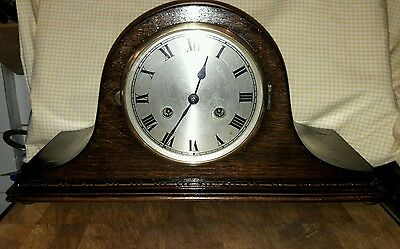 Napoleon 2Key Striking Mantle Clock +Pendulum & Key In E.w.o  Nap8