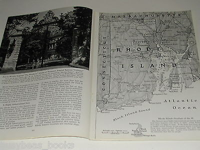 1948 magazine article about RHODE ISLAND, color photos, history etc