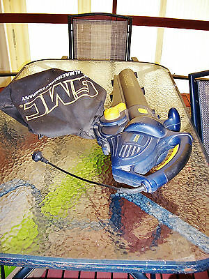 Electric Leaf Blower and Vacuum with Bag