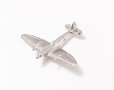 RAF Supermarine Spitfire WW 2 GLD 3D PLATED HAT PIN BRITISH PILOT WING GIFT WOW