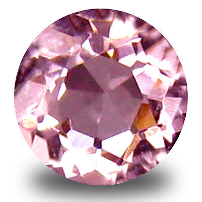 0.13 ct Lovely Round Cut (3 x 3 mm) Pink Color Morganite Gemstone