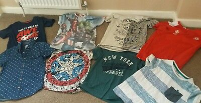 boys top t-shirt bundle age 7-8 years