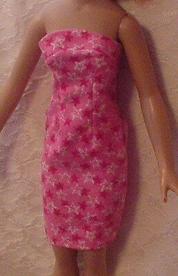 """Pink Starry Sheath Dress  for 18"""" Kitty Collier and Miss 17"""