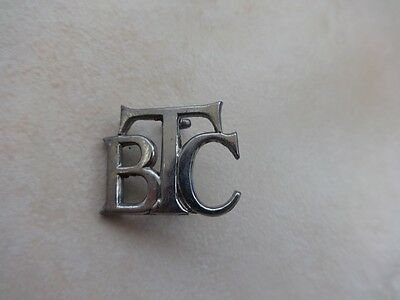 British Transport Commission Chrome Collar Badge