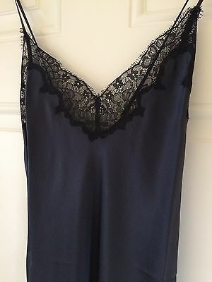 NEW Figleaves Silk Chemise Slip, Size Small RRP75