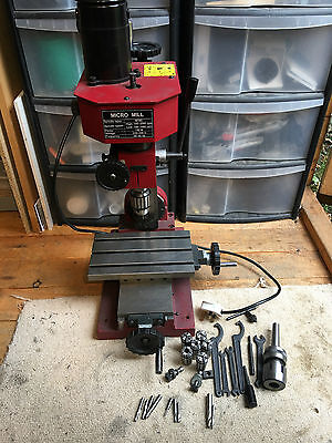 Axminster Mini Mill Milling Pillar Drill CNC Conversion