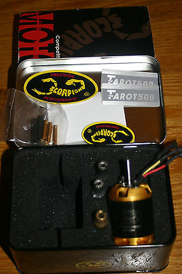 Scorpion HK-3026-1000 Brushless Outrunner Motor with 12,13 & 14T pinions