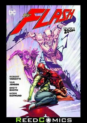 FLASH VOLUME 8 ZOOM GRAPHIC NOVEL Paperback Collects (2011) #41-47 and Annual #4