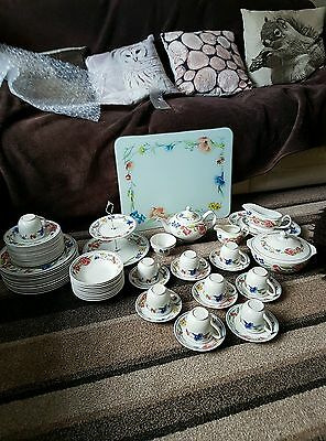 Woods And Sons  Alpine Meadow Dinner Service + Tea Set + More