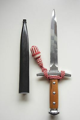WWII M-1943 Swiss Army Military Officer's Dagger Portepee Elsener Victoria Dolch