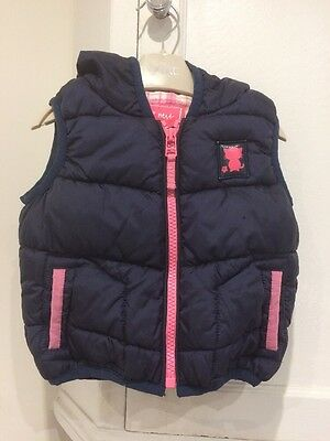 Next Hooded Gilet. 3-6 Months