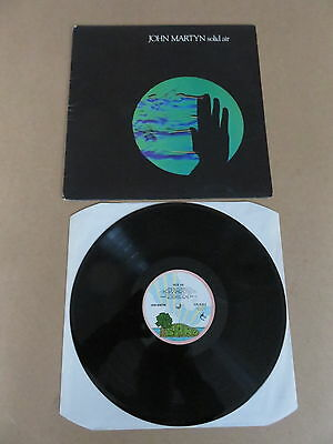 JOHN MARTYN Solid Air LP RARE PINK RIM ISLAND ORIGINAL GATEFOLD UK 1ST PRESSING