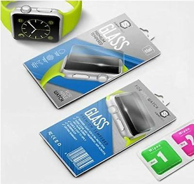Screen Protector for Apple Watch  No Smudges & Scratches Resists Water and Oil