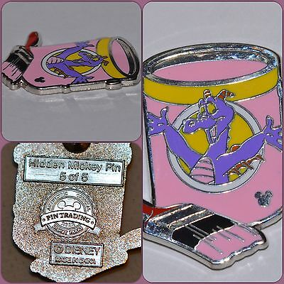 Disney 2012 Hidden Mickey Series - Paint Can Collection - Figment Pin 88661