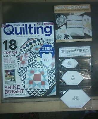 Patchwork & Quilting Craft Magazine Issue 42. 2016 *NEW* FREE GIFTS
