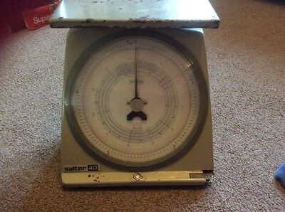 vintage salter post office scales