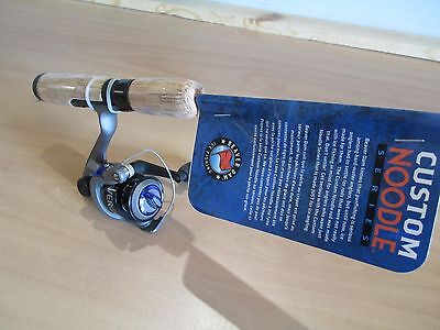 BEAVER DAM NOODLE 23 inch ice fishing rod and reel combo