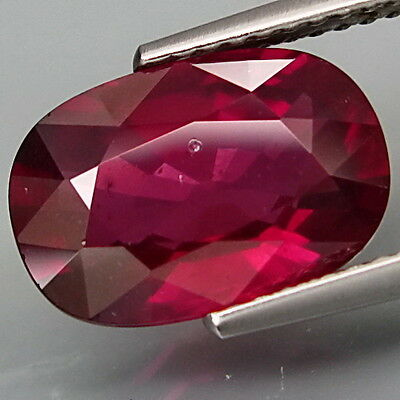 RHODOLITE GARNET 4.56Ct  BEAUTIFUL COLOUR HUES