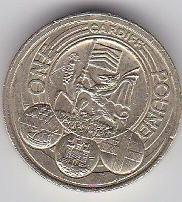 RARE £1 COIN 2011 CAPITAL CITIES CARDIFF 2nd RAREST IN CIRCULATION