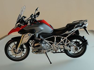 Bmw Motorrad R1200 Gs Motorcycle Bike Model Ideal Christmas Gift Schuco Gift Red