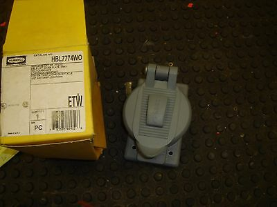 Hubbell HBL7774WO Lift Cover Plate for 50A Twist Lock Receptacle Weatherproof