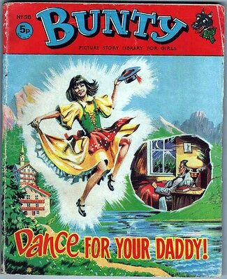 Bunty Picture Story Library no.98  Dance For Your Daddy Published 1971