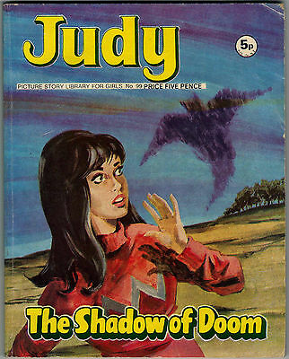 Judy Picture Story Library no.99  The Shadow of Doom Published 1971