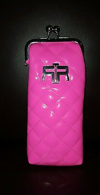 River Island Glasses Case Fab Barbie Pink Quilted Glasses Spectacles Case