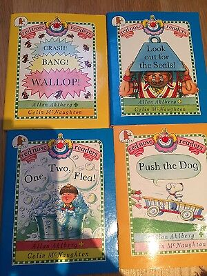 4 learning to read red nose readers books