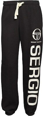 Kids Boys Junior Sergio Tacchini Joggers Sweat Pants Jogging Tracksuit Bottoms