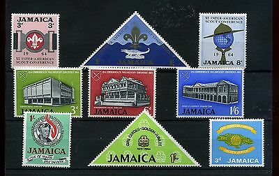 Jamaica.9 -- 1964/5 Mounted Mint Stamps On Stockcard
