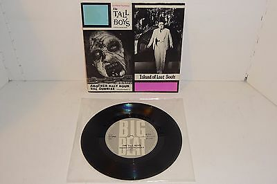 "THE TALL BOYS ISLAND OF LOST SOULS BIG BEAT REISSUE 7"" + P/S also The Meteors"